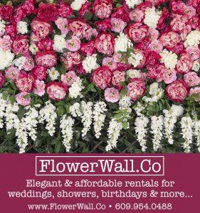 Philadelphia Flowerwall rental