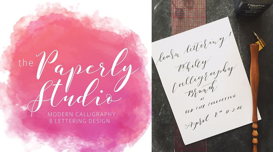 philadelphia calligraphy class